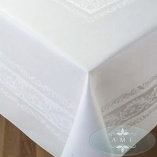 Irish linen double damask
